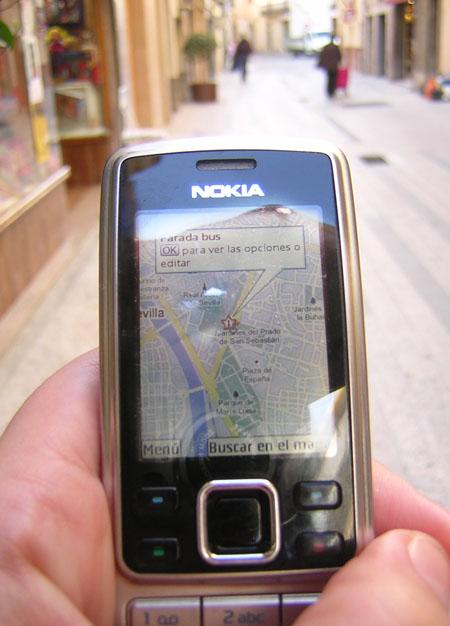 Google Maps al mòbil