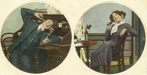Xerrant per telèfon