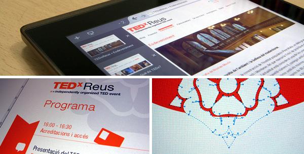 Treballant al TEDxReus