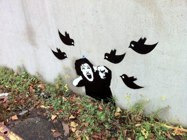grafit, una noia atacada per 5 tuits
