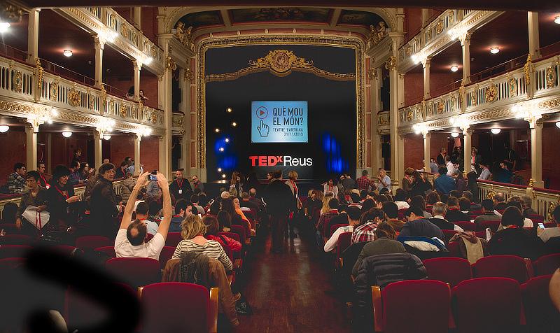 TEDxReus 2015 abans de començar.
